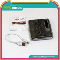 tobacco paper case ,H0T027, metal cigarette case with logo