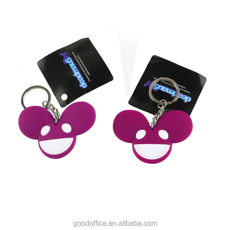 3D Cartoon soft pvc rubber keychain ,custom promotional keychain