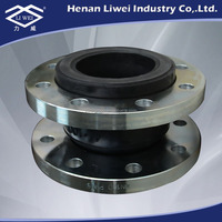 Hot Sale DIN Flanged Rubber Flexible Joints with Galvanized Flange end