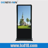 professional factory uk usd touch screen monitor advertising player