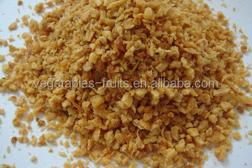 Fried garlic granules with corn flour
