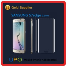 [UPO] New arrival 0.2mm Full Screen Cover For Samsung galaxy S7 edge Tempered glass,3D Curved Tempered glass