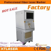 ID card printing machine price I 50W Sealed fiber laser marking machine I laser marking machine made in China alibaba