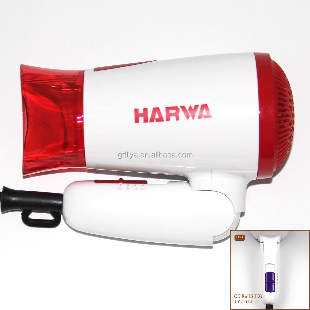 Wholesale Hot Sale 1200w Guesthouse And Bathroom Mini Hotel Hair Dryer