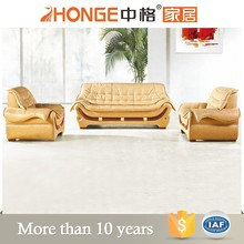modern quality management pictures wood furniture sofa set 1+2+3 seats leather