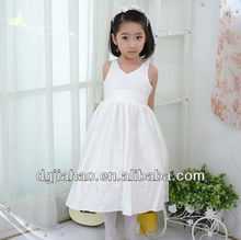 Unique Halter design selling kids clothes muslimah long dress