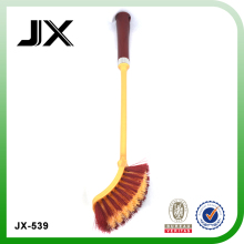 plastic toilet brush for toilet cleaning with square brush head