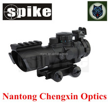 Hunting accessories 4x32 prism optical rifle scope with three rail for hunting/air gun hunting