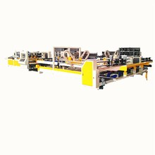 New style good price automatic carton folder gluer machine
