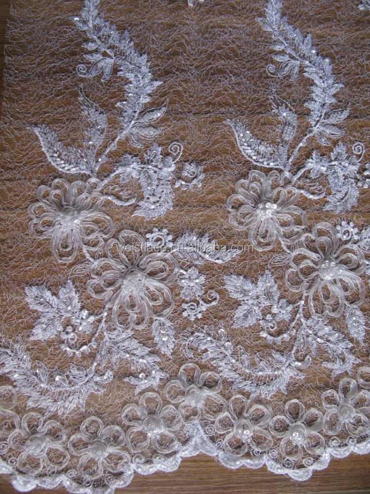 3d lace fabric/3d lace fabric white/ivory lace applique embroider/ivory applique venice lacepearl beads embroidery designs