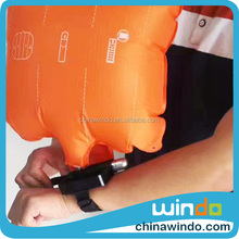Hot commodity portable rescue wrist lifesaving device anti drown inflation Airbag bracelet