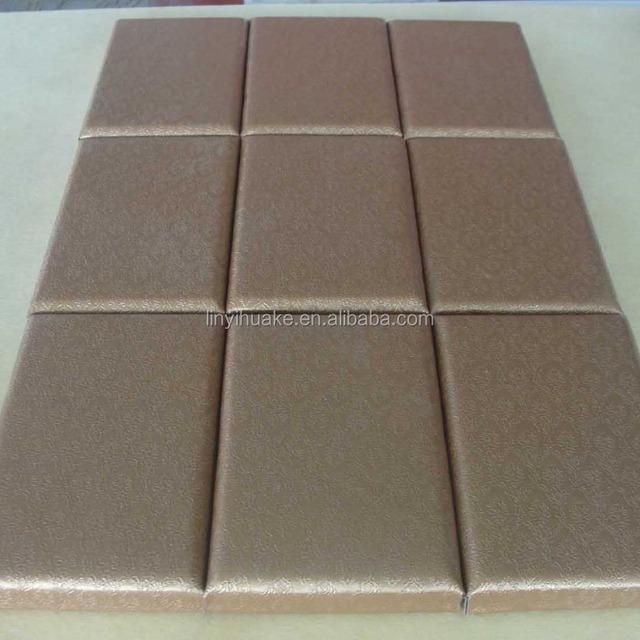 interior decorative leather face fiberglass acoustic ceiling tiles