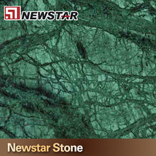Newstar big flower green marble verde alpi indian green marble for flooing