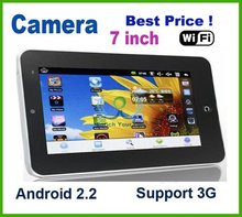 "7"" inch 4GB 512M Android 2.2 WiFi MID Notebook Tablet PC"