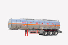 Hot sale 3 fuwa axles oil tank semi trailer mady by Huayu Factory