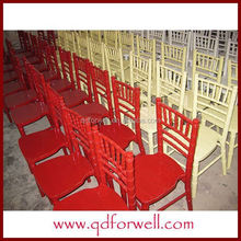 wooden customized wood lime wash chiavari chair for outdoor