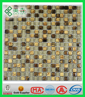 REFV Building Material New Crystal Glass Mosaic Tile for Modern Home