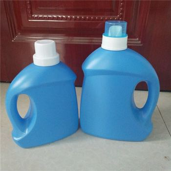 Hot sale 2000ml Liquid Laundry Detergent Plastic Bottle With Spout