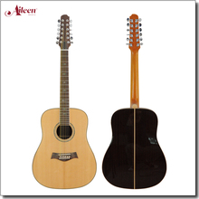 solid wood 12 string acoustic electric guitar (AFM30-12)