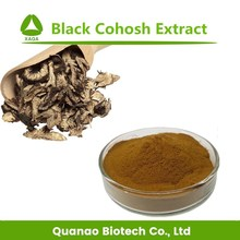 Factory Supply black cohosh extract Triterpenoides Saponis black cohosh Root extract Powder