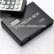 Mini Media Player Supports Full HD HDMI Up to 1080P Output with 50 to 60Hz Frequencies