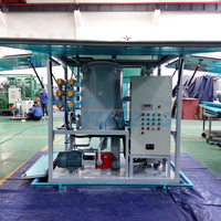 High Efficiency Double Stage Vacuum Transformer Oil Centrifuging Machinery