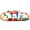 Children's toy multi-purpose building block track