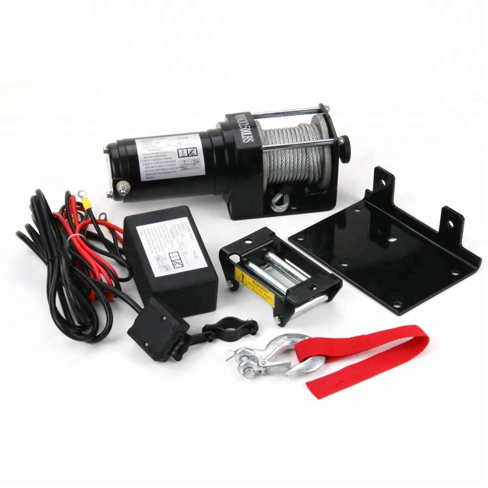 12 volts ATV/UTV Electric Winch 2500LB