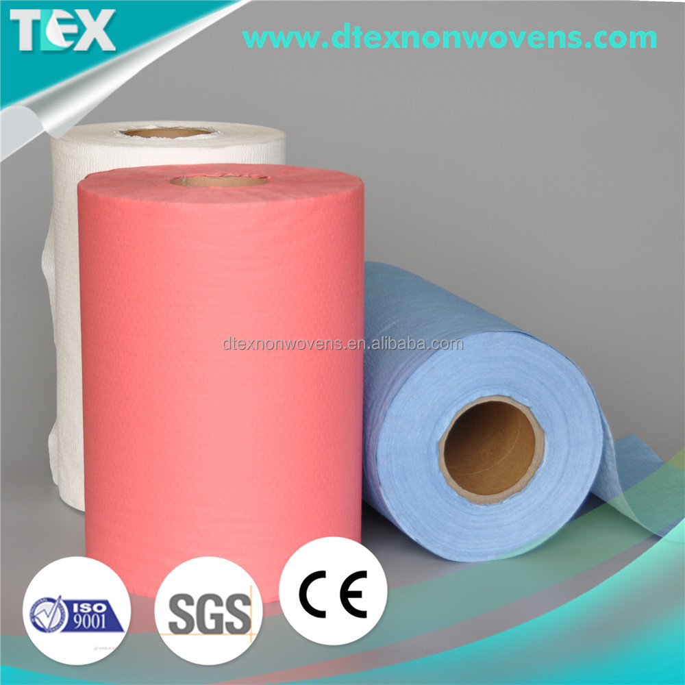 spunlace nonwoven clean wiper car care products