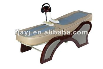 thermal jade rollers massage bed with mp3 function