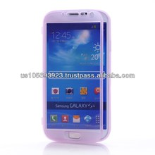 Front protectors Clear Soft TPU Case For SUMSUNG S4 /i9500