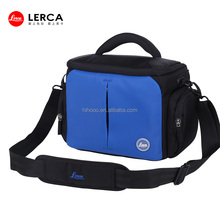 Newest Fancy Navy Blue Nylon Digital Camera Video Bags