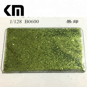 Factory Bulk Wholesale Light Green Color Dust Glitter Powder for Craft