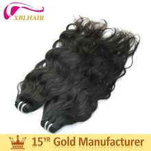 2017 new XBL hair natural color can be bleached beauty elements hair