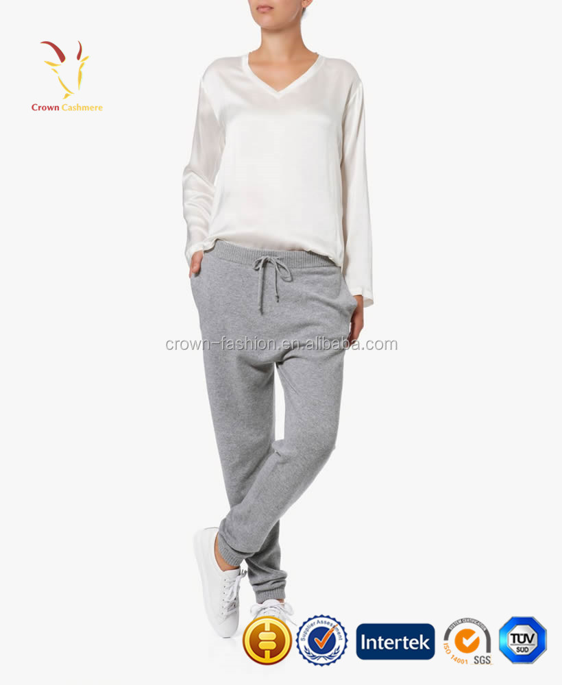 Spring Soft 100 Cashmere Jogging Pants