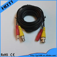 dongguan cable bnc dc connector video connect cable