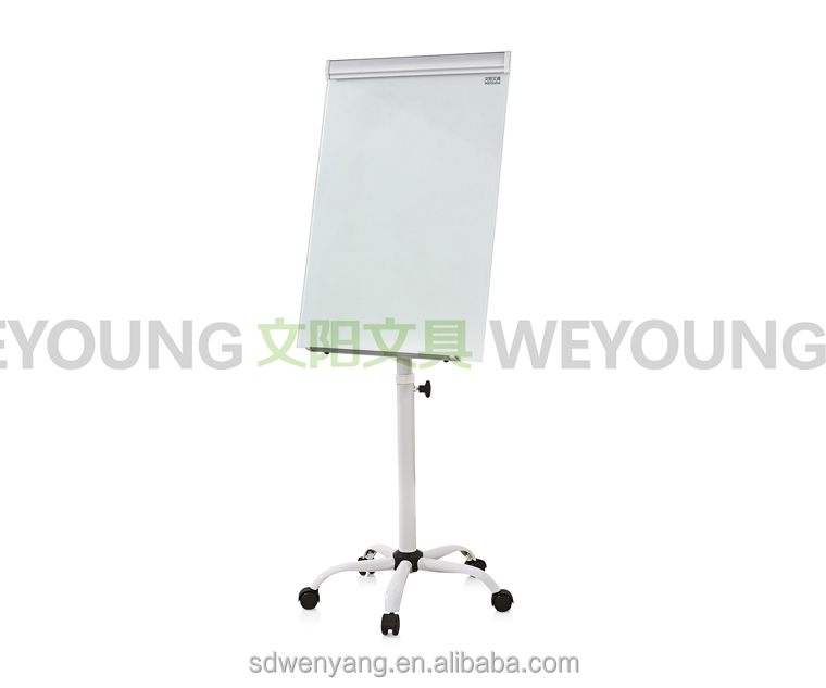 GFC-555 fashional mobile glass board Magnetic Boards