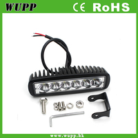 V1NF 6Inch 18W 6LEDs Work Light Bar Spot Driving Lights Offroad Fog 4WD Car SUV