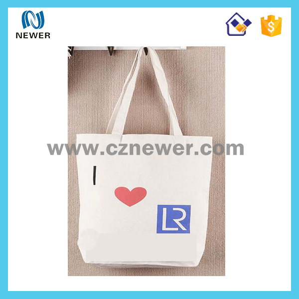 Cheap cute cotton mesh tote shopping bags promotion