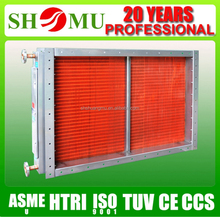 New style evaporative air cooling condenser
