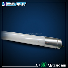 Luminous CE ROHS 9W 80lm/w low fever rotatable T8 9w led glass tube
