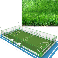Discount athletic track Sport Synthetic Grass, Non infill artificial turf for football/ soccer