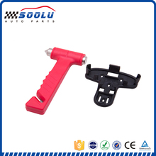 New design 2 in 1 car emergency life safety hammer