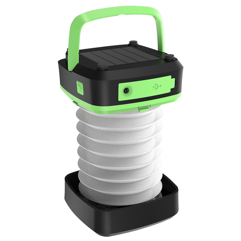 YARRAE Solar Rechargeable Lights with Solar Panel and USB Charging  LED Camping Lantern