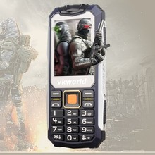 Low Price vkworld Stone V3S 2.4inch Screen Simple Style New Launch IP54 Rugged Mobile Phone for Elderly