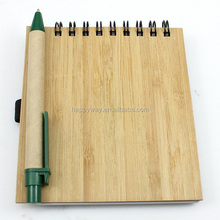 Popular Popular Kraft Cover Note Book With Pens 0703047 MOQ 100PCS One Year Quality Warranty