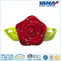 Low cost classic modeling design great red wedding stage decoration with flowers