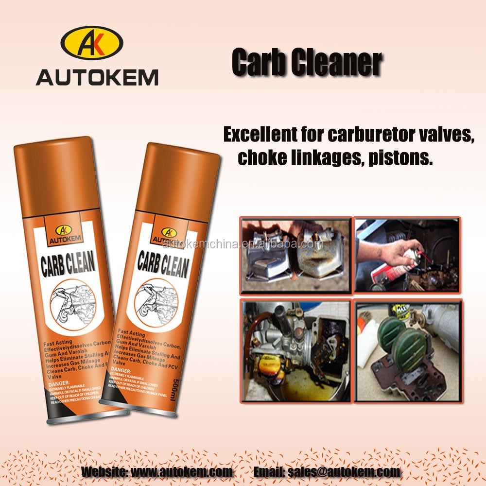 Professional car cleaning product Carburetor Cleaner aerosol spray