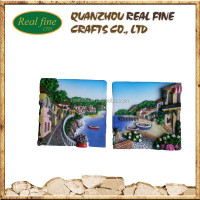 New Design Italy Tourist Landscape Souvenirs With 3D Magnet For Fridge