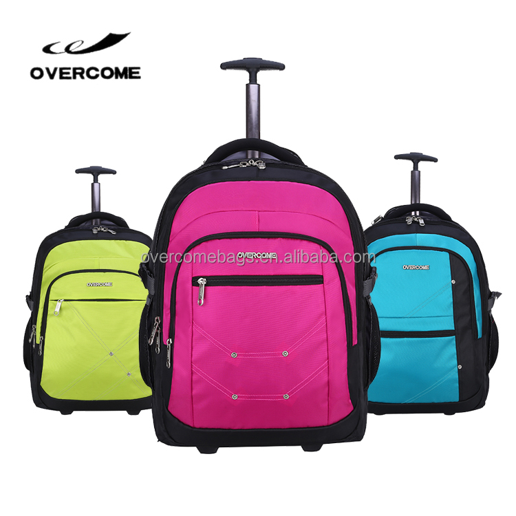 Rolling Laptop Bag Trolley Backpack
